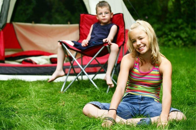de camping con niños en huesca